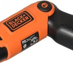 BLACK+DECKER Cordless Screwdriver with Pivoting Handle, 3.6V (Li2000)