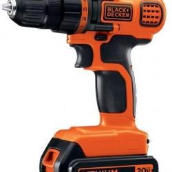 BLACK+DECKER 20V MAX Cordless Drill / Driver, 3/8-Inch (LDX120C)
