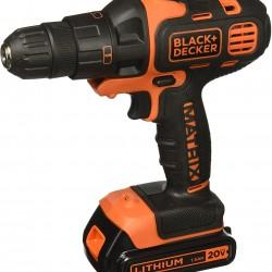 BLACK+DECKER 20V MAX Matrix Cordless Drill Combo Kit, 2-Tool (BDCDMT120IA)