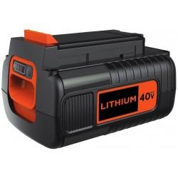 BLACK+DECKER 40V MAX Battery, Lithium Ion, 2.5-Ah (LBX2540)
