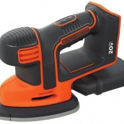BLACK+DECKER 20V MAX Mouse Sander, Tool Only (BDCMS20B)