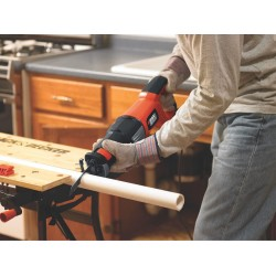 BLACK+DECKER RS600K 8.5 Amp Reciprocating Saw Kit With 6-Speed Control