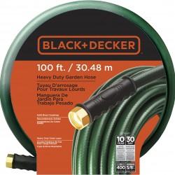 Black & Decker BD70207 Heavy-Duty Garden-Hose, 100' x 5/8