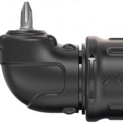 BLACK+DECKER 4V MAX Cordless Screwdriver, Right Angle Attachment (BDCSRAA)