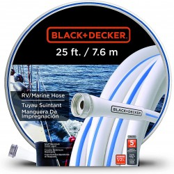 BLACK+DECKER BD1631 Boat/RV Hose 25'x1/2